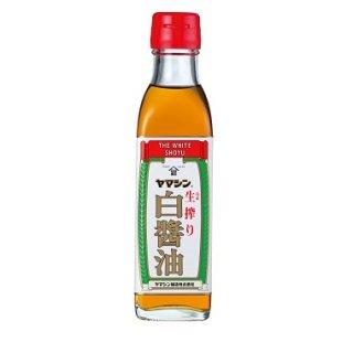 生搾り白醤油(ヤマシン白醤油) 200ml