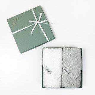 OLSIA Premium ギフトセット(ハンカチタオル2枚)緑箱