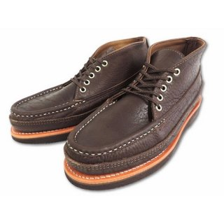 RUSSELL MOCCASIN / BISON TRIPLE VAMP 5eyelet sporting clay's chukka BROWN