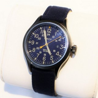 TIMEX / Allied TW2R46200VQ 40mm Nylon Strap WATCH NAVY