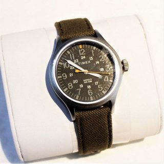 TIMEX / Allied TW2R46200VQ 40mm Nylon Strap WATCH OLIVE