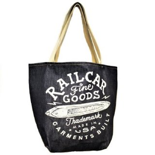 Railcar Fine Goods /  SELVEDGE DENIM TOTEBAG 13.5oz.