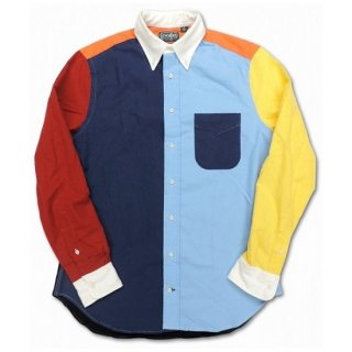 GITMAN VINTAGE / FUN-FELT FLANNEL  L/S B.D SHIRT (CRAZY)