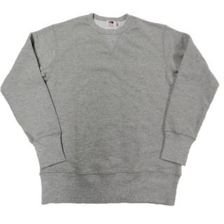 FRUIT OF THE LOOM x PINECONE / MADE IN U.S.A CREW SWEAT (GRAY)