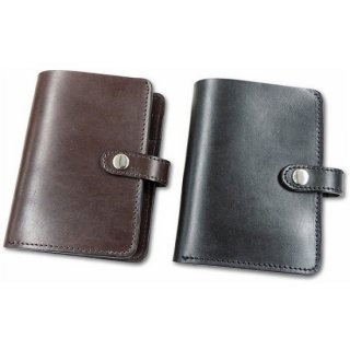 BRONSON LEATHER / U.K.SADDLE LEATHER SEMI LONG WALLET (2colors)
