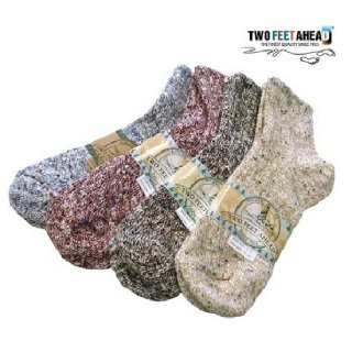 TWO FEET AHEAD / quarter socks (4colors)