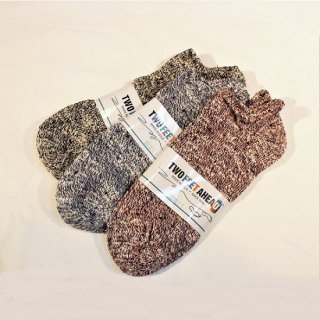 TWO FEET AHEAD / ankle socks (3colors)