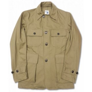 PINECONE / HERRINGBONE TWILL MILITARY JACKET - COYOTE