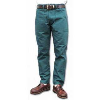 STAN RAY / slim fit 4pocket fatigue pant duck - GREEN