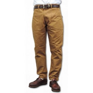 STAN RAY / slim fit 4pocket fatigue pant duck - BROWN