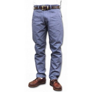 STAN RAY / slim fit 4pocket fatigue pant duck - GARAGE BLUE