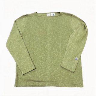 PINECONE x Tieasy / boatneck L/S  GREEN TEA