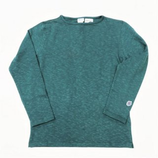 PINECONE x Tieasy / boatneck L/S  SEA BLUE