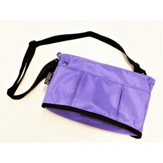 MELO / SMALL OVAL SHAPED BAG(PURPLE)