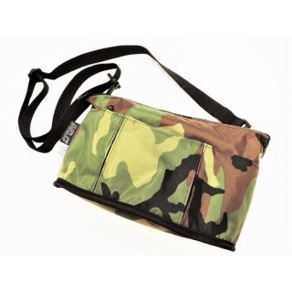 MELO / SMALL OVAL SHAPED BAG(CAMO)