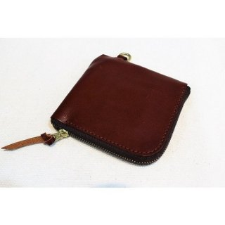 BRONSON LEATHER / ZIP MINI WALLET