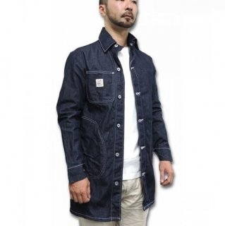 POINTER BRAND / LONG JACKET with CIRCLE POCKET - DENIM