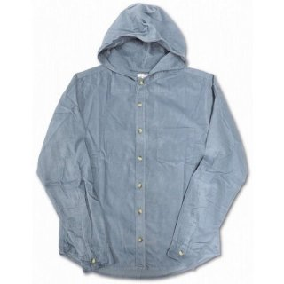 LEFTY O'DOULS  / HOODED CORDUROY SHIRT ( GRAY )