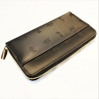 Vibram RUBBER LONG WALLET (BLACK)