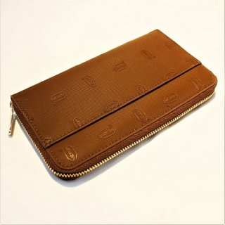 Vibram RUBBER LONG WALLET (BROWN)