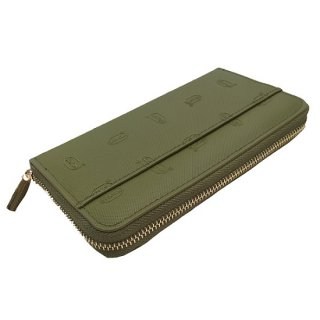 Vibram RUBBER LONG WALLET (GREEN)