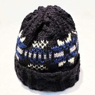 HIGHLAND 2000 /  SNOWFLAKE WATCH CAP  (NAVY)
