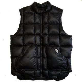 KLUANE/DOWN HUNTER VEST BLACK