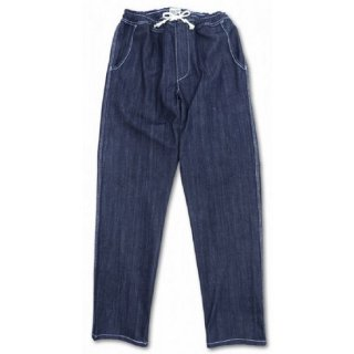 PINECONE / stretch denim easy pant - INDIGO
