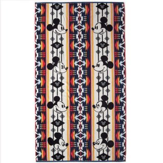 PENDLETON x MICKEY / JACQUARD SPA TOWEL(Mickey's Through The Years)