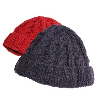 ARTESANIA / CABLE KNIT CAP (2colors)
