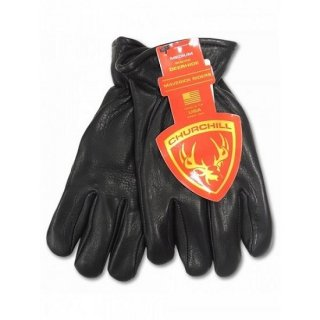 CHURCHILL GLOVE / Classic Standard Cuff Thinsulate Insulation BLACK