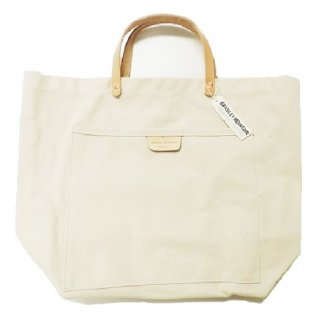 BRADLEY MOUNTAIN / COAL TOTE LEATHER HANDLE (NATURAL)