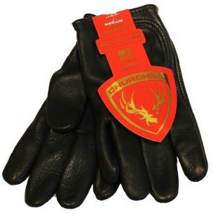 CHURCHILL GLOVE / Classic Short Wrist  BLACK