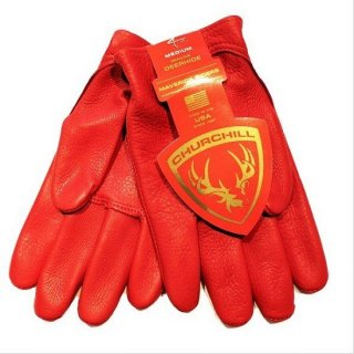 CHURCHILL GLOVE / Classic Short Wrist  RED