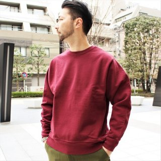 FRUIT OF THE LOOM / HEAVYWEIGHT CREW SWEAT (BURGUNDY)