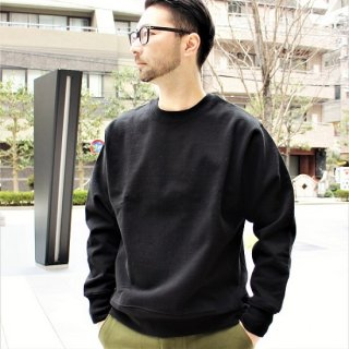 FRUIT OF THE LOOM / HEAVYWEIGHT CREW SWEAT (BLACK)