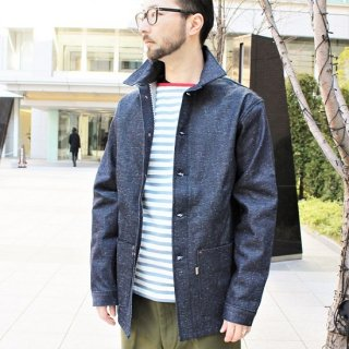 Railcar Fine Goods /  SERVICE COAT 2 12oz. INDIGO DENIM