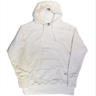 FRUIT OF THE LOOM  / MADE IN U.S.A HOODED SWEAT (WHITE)