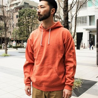 FRUIT OF THE LOOM  / FRUIT DYED HOODED SWEAT (APRICOT)