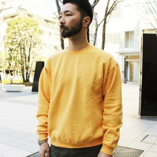 FRUIT OF THE LOOM  / FRUIT DYED CREWNECK SWEAT (MANGO)