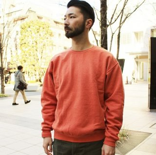 FRUIT OF THE LOOM  / FRUIT DYED CREWNECK SWEAT (APRICOT)