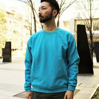FRUIT OF THE LOOM  / FRUIT DYED CREWNECK SWEAT (BLUEBERRY)