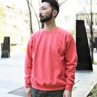 FRUIT OF THE LOOM  / FRUIT DYED CREWNECK SWEAT (STRAWBERRY)