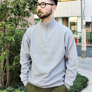 JERZEES  / HALF ZIP SWEAT (GREY)