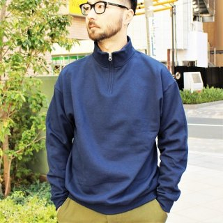 JERZEES  / HALF ZIP SWEAT (NAVY)