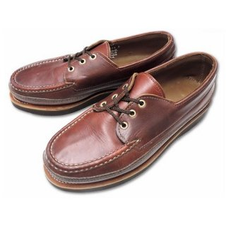 RUSSELL MOCCASIN / REGATTA BOAT SHOE Triple Vamp TAN CHROMEXCEL
