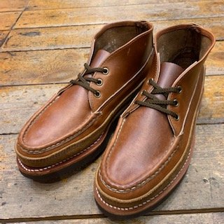 RUSSELL MOCCASIN/SPORTING CLAY'S CHUKKA WHISKY CAVALIER CHROMEXEL