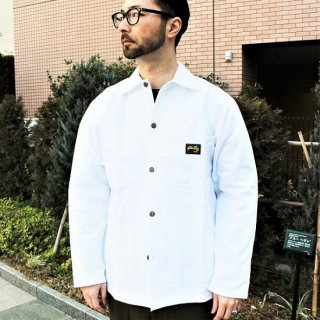 STAN RAY / shop jacket WHITE drill