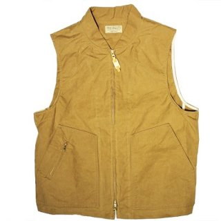 MANIFATTURA CECCARELLI / NEW TRAVEL VEST -DARK TAN