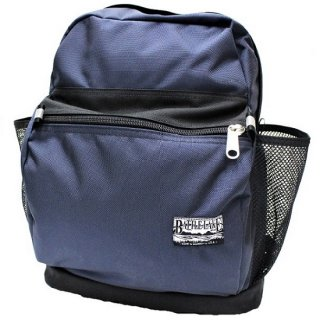 BATTLE LAKE / 2tone BALLISTIC NYLON day pack  (NAVY / BLACK)